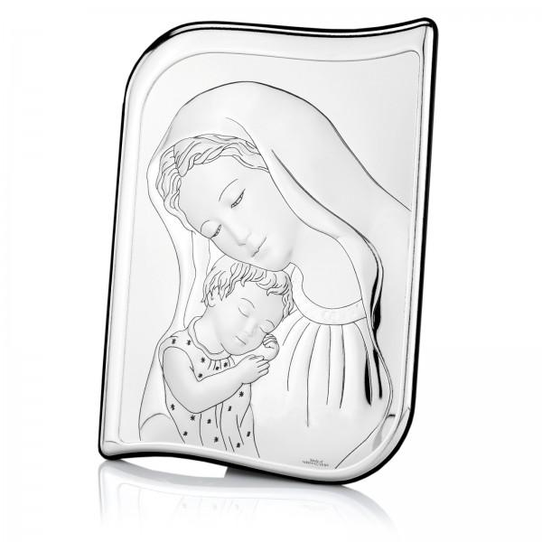 Spersonalizowany obrazek z Matką Boską na pamiątkę chrztu