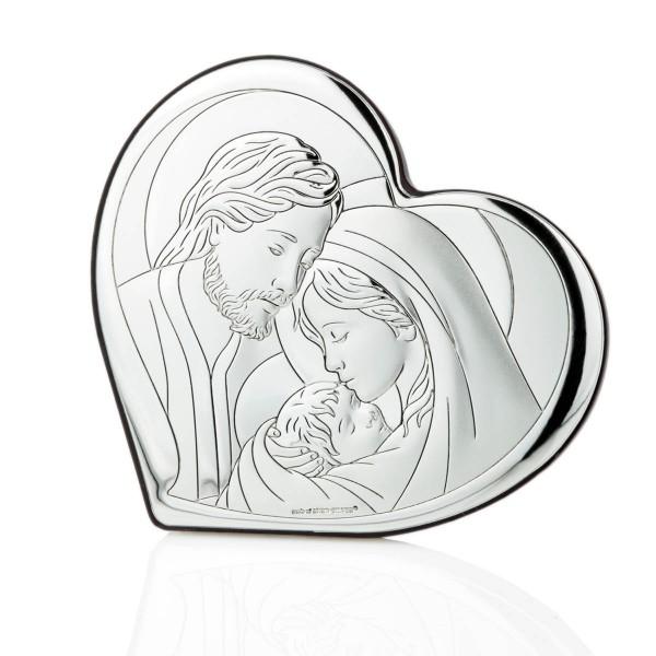 Obrazek na Chrzest Święty ze Świętą Rodziną